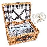 Picknickkorb 'PickPack' mit Kühlfach, Kühlpacks und...