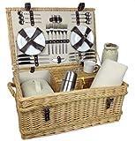 Uppercrust Jubilee Picknick-Korb für 6 Personen
