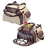 elasto Picknicktasche 40-Teilig 'Meadow' Outdoor...