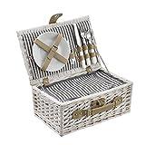 [casa.pro] Picknickkorb für 2 Personen -...