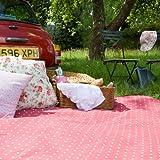 Extra Große Rote Picknickdecke
