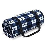 HUTHIM Picknickdecke 200x200 cm, Picknickdecke...