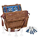 anndora Weiden-Picknick Korb Summertime für 4 Personen...*