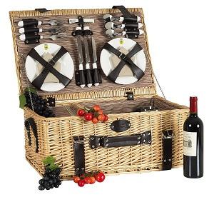 picknickkorb für sechs personen