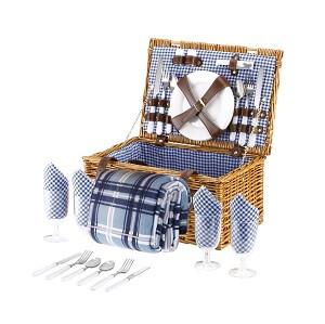 picknickkorb für vier personen