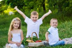 Picknickkorb für Kinder