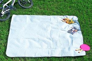 Picknickdecke mit Punkten