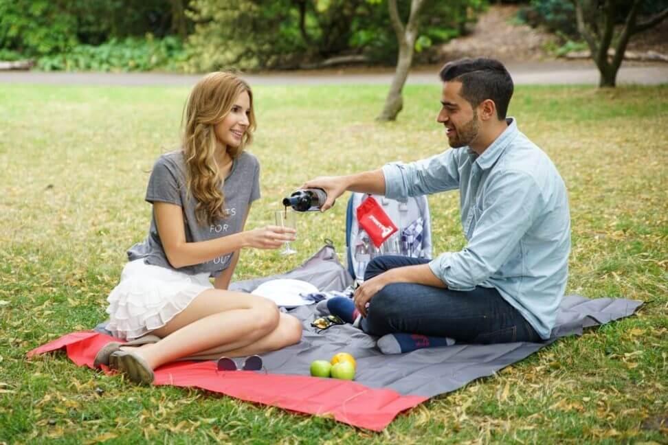 Kleine Picknickdecke