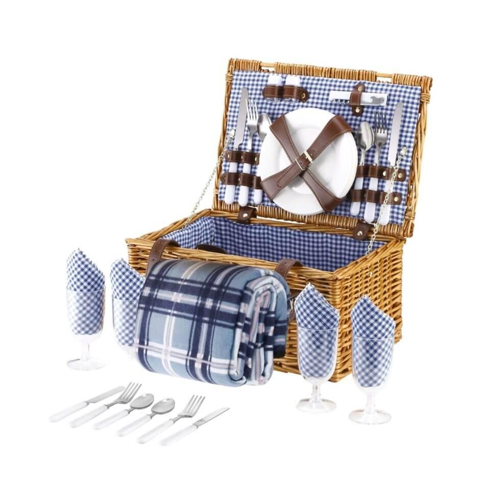 picknickkorb mit k hlfach modelle wissenswertes vergleiche. Black Bedroom Furniture Sets. Home Design Ideas
