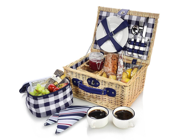 Kühltasche Picknickkorb