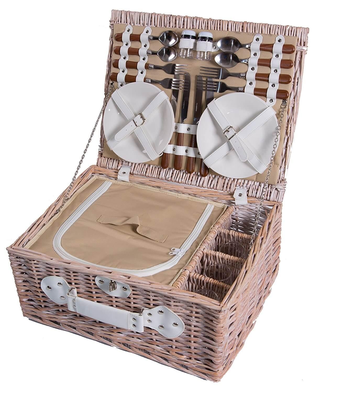 Kühlfach Picknickkorb