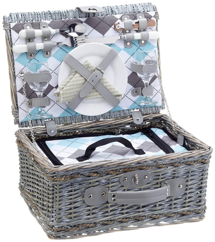 Picknickkorb und Kühlfach
