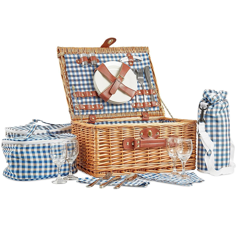 Picknickkorb Kühltasche