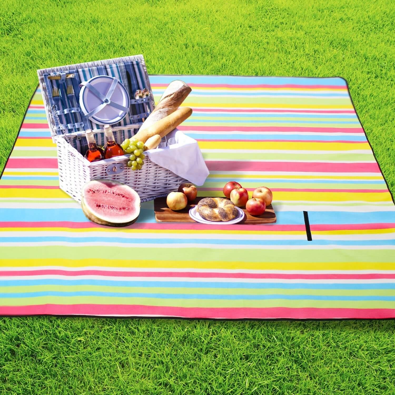 isolierte picknickdecke