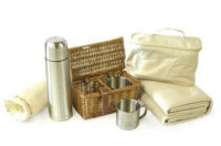 Luxus Picknickkorb kaufen: Exklusive Modelle vor den Vorhang