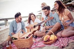 XXL Picknickdecke