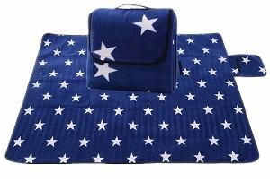Picknickdecke mit Sternen