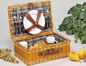 Picknickkoffer für 2 Personen