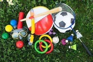 Picknick Spiele im Freien