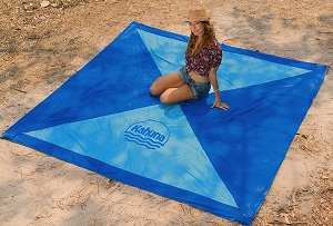 großes strandtuch kahuna