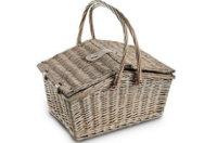 Picknickkorb aus Weide: Materialerklärung & Modelle