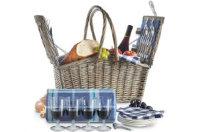 VonShef Picknickkorb für 4 Personen: Produktbericht