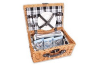Picknickkorb für 2 Personen mit Kühlfach von WOP ART: Produktbericht